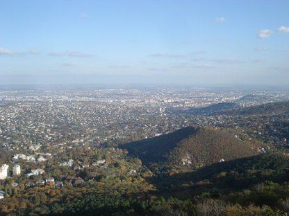 Sétarepülés Budai hegyek
