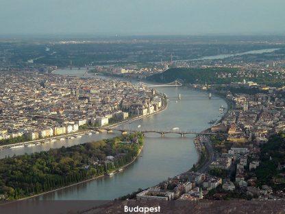 Sétarepülés Budapest felett panorámával